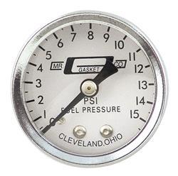 Mr. Gasket 1561 - Mr. Gasket Analog Fuel Pressure Gauges