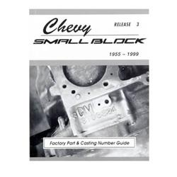 MSA-1 2113 - MSA-1 Chevy Small Block Factory Part & Casting Number Guide,1955-1999
