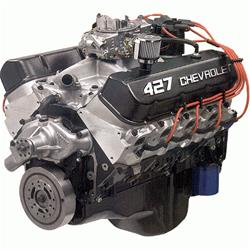 chevrolet performance zz427/480 hp long block crate engines 19331572