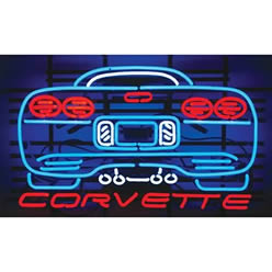 Corvette C5 Neon Sign Free Shipping On Orders Over 99