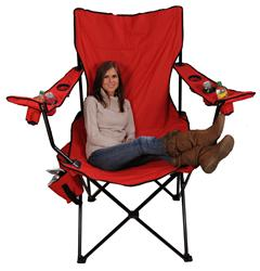 Excellent Red Kingpin Folding Chair 7002 Creativecarmelina Interior Chair Design Creativecarmelinacom