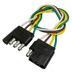 pico trailer wiring harness extensions 0712pt free shipping on rh summitracing com travel trailer wiring harness extension 7 Wire to 5 Wire Coiled Trailer