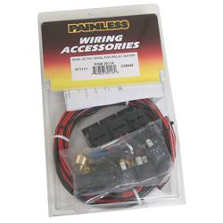 Strange Painless Performance Dual Activation Electric Fan Relay Kits 30116 Wiring Digital Resources Arguphilshebarightsorg