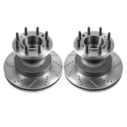 Power Stop Evolution Drilled & Slotted Rotors AR82130XPR