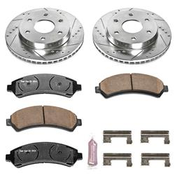 Power Stop K2009-36 - Power Stop Z36 Truck and Tow Performance Brake Kits