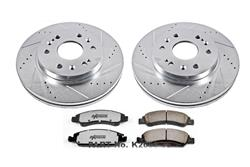 Power Stop K2069-36 - Power Stop Z36 Truck and Tow Performance Brake Kits