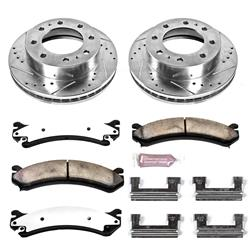 Power Stop K2071-36 - Power Stop Z36 Truck and Tow Performance Brake Kits