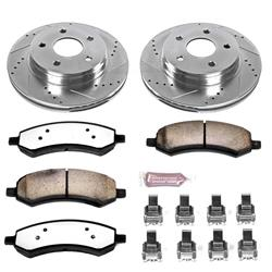 Power Stop K2163-36 - Power Stop Z36 Truck and Tow Performance Brake Kits