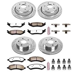 Power Stop K2164-36 - Power Stop Z36 Truck and Tow Performance Brake Kits