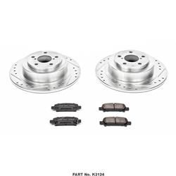 SUBARU LEGACY Power Stop Z23 Evolution Sport Brake Upgrade Kits K3124