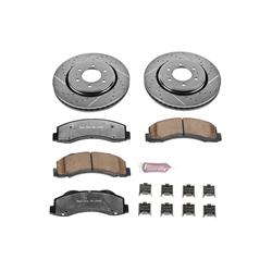 Power Stop K3167-36 - Power Stop Z36 Truck and Tow Performance Brake Kits