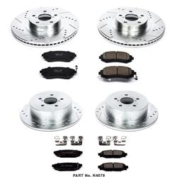 Power Stop Z23 Evolution Sport Brake Upgrade Kits K4079