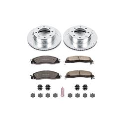 Power Stop K5411-36 - Power Stop Z36 Truck and Tow Performance Brake Kits