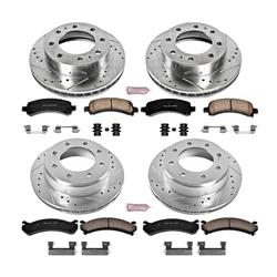 Power Stop K6251-36 Rear Z36 Truck and Tow Brake Kit