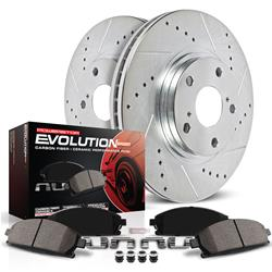 Power Stop K7687 - Power Stop Z23 Evolution Sport Brake Upgrade Kits