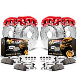 Power Stop KC5468-36 - Power Stop Z36 Truck and Tow Performance Brake Kits with Calipers