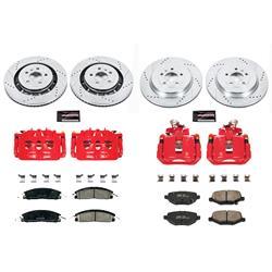 Power Stop K5327 Front Z23 Evolution/Sport Brake Upgrade Kit Z23 EvolutionSport Brake Upgrade Kit