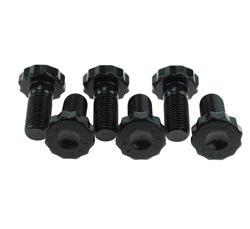 "ARP 100-2801 Black Chevy//Ford Performance Series Flywheel Bolt Kits 7//16 x 1/"" AR"