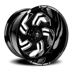 Rbp Jagger Forged Gloss Black Wheels With Machined Spokes 33rf 2214