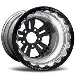 RC Components CSG853P1E-04B - RC Components Fusion Gloss Black Wheels