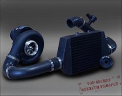 RIPP Superchargers Jeep Wrangler JK Black Ops Edition Supercharger Kits  0711JKSDS2-BLK