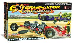 1:8 Scale Exterminator Dragster Plastic Model Kit