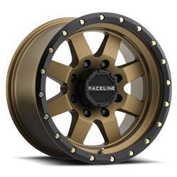 Raceline Wheels 935BZ8908012 - Raceline Wheels 935BZ Defender Matte Bronze Wheels