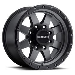 Raceline Wheels 935G7908000 - Raceline Wheels 935G Defender Matte Gunmetal Wheels