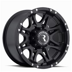 Raceline Wheels 981-29081+20 - Raceline Wheels Raptor Black Wheels