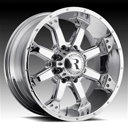 Raceline Wheels 991C-79055+18 - Raceline Wheels Assault Chrome Wheels