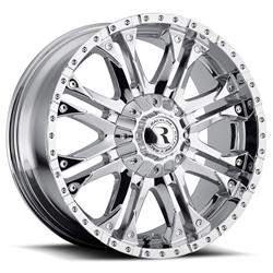 Raceline Wheels 995C-78593+18 - Raceline Wheels Octane Chrome Wheels