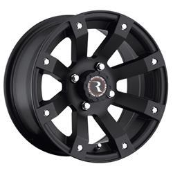 Raceline Wheels A7947011-52 - Raceline Wheels A79 Scorpion Matte Black Wheels