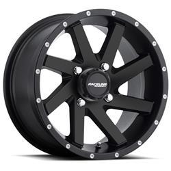 Raceline Wheels A82B-47011-52 - Raceline Wheels A82B Twist Matte Black Wheels