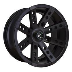Remington Off-Road BS127043-40SB - Remington Wheels Buckshot Series Satin Black Wheels