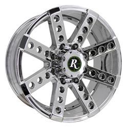 Remington Off-Road BS221180-44V2 - Remington Wheels Buckshot Series PVD Chrome Wheels