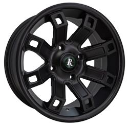 Remington Off-Road HP12704310SB - Remington Wheels Hollow-Point Series Satin Black Wheels