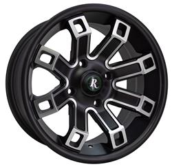 Remington Off-Road HP1470495SBM - Remington Wheels Hollow-Point Series Satin Black with Machined Face Wheels