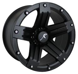 raptor series 311 matte black wheels 311b 209 0055 12 free