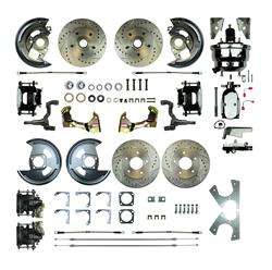 Right Stuff Detailing AFXDC41CSX - Right Stuff Detailing 4-Wheel Disc Brake Conversion Best of Show Kits