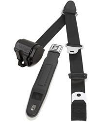 Retrobelt 3 Point Retractable Lap And Shoulder Seat Belt Systems 369 Blk 12