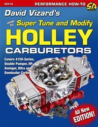 SA Design SA216 - SA Design David Vizard's How to Super Tune and Modify Holley Carburetors