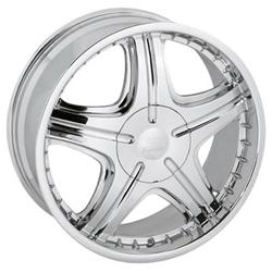 Sendel Wheel S06-77002C - Sendel S06 Chrome Wheels