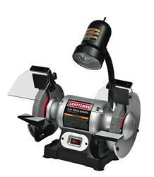 Craftsman 1 6 Hp 6 In Bench Grinders With Lamp 009 21124