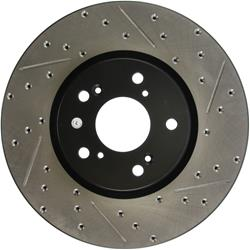 StopTech 127.40062L - StopTech Drilled and Slotted Brake Rotors