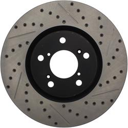 StopTech 127.40071L - StopTech Drilled and Slotted Brake Rotors