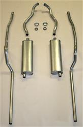 Shafer's Classic Reproductions 63047S - Shafer's Classic Reproductions Exhaust Systems