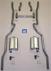 Shafer's Classic Reproductions 63055S - Shafer's Classic Reproductions Exhaust Systems