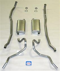 Shafer's Classic Reproductions 73034 - Shafer's Classic Reproductions Exhaust Systems