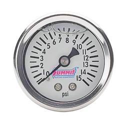 Summit Racing SUM-800115 - Summit Racing® Fuel Pressure Gauges