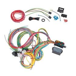 summit racing 18 circuit universal wiring harnesses sum 890020 rh summitracing com painless 18-circuit universal wiring harness Universal Street Rod Wiring Harness